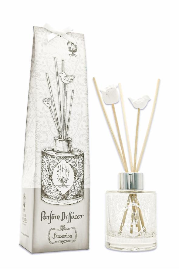 Parfüm Diffúzer Bazsarózsa